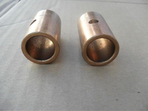 Brass Bearing Sleeve Bushing for Bobcat, Ransom 33014A, 33050, BAA0203, PL0458, 704149, 704172, 7-04149, 7-04172, Set of 2 Bearings Sleeves Bushings