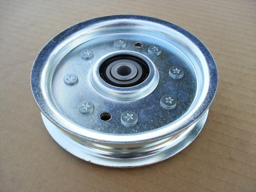 """Flat Idler Pulley for Kees 403009 OD: 4-5/8"""", ID: 3/8"""" Made In USA"""