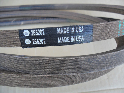 """Deck Belt for Craftsman, MTD, ZTL54 with 54"""" Cut 754-04329, 954-04329, Made In USA"""