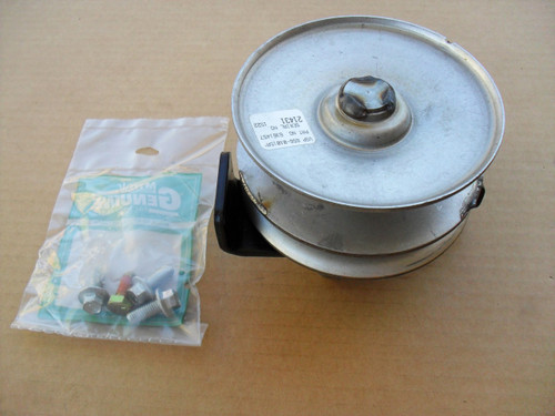 Variable Speed Drive Pulley for MTD, Troy Bilt Bronco, White Outdoor, 618-04147, 618-04423A, 918-04147, 918-04423A