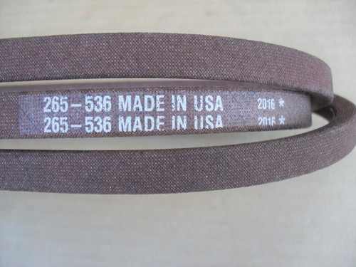 Deck Belt for Cub Cadet 1212, 754-0349, 954-0349 Yardman Made In USA