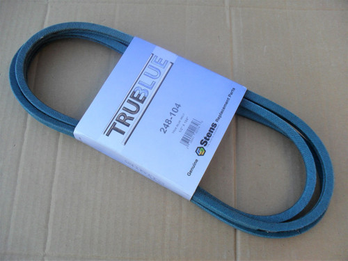 Belt for John Deere, Scotts M131237, Made in USA, Oil and heat resistant, kevlar cord