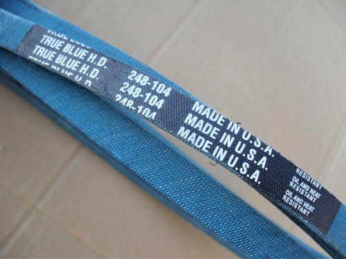 Belt for John Deere, Scotts M131237 Oil and heat resistant, Inner Aramid cord