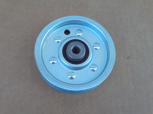 """Flat Idler Pulley for FMC 1714742, 171-4742 Height: 1"""" ID: 3/8"""" OD: 3-3/4"""""""