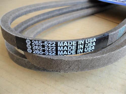 Deck Belt for Gravely ZT1540, ZT1640, ZT1734, ZT1740, ZT1840, ZT1844, ZT1944, ZT2040, ZT2048, ZT2050, ZT2148, ZT2350, ZT2252, ZT2348, ZT2352, ZT2552, 07241800, 7241800, Made In USA