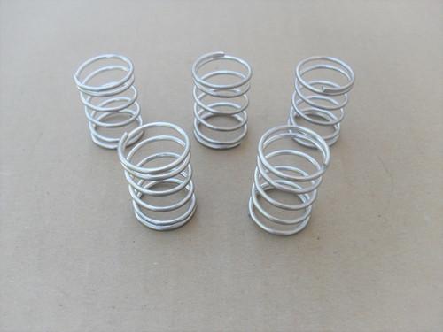 Bump Head Springs for Ryobi String Trimmer 610317, 610317R, 791-610317B, Shop Pack of 5 Springs, bumphead