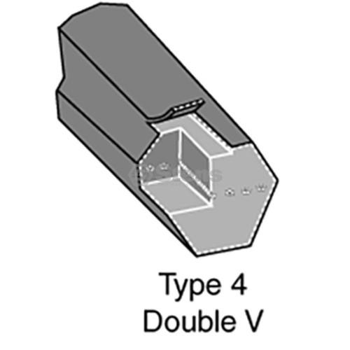 Deck Belt for Countax 22869800, 22-8698-00