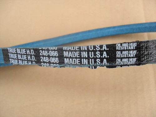 Belt for Power King 810066, Made in USA, Kevlar cord, Oil and heat resistant