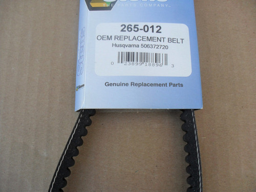 Drive Belt for Partner K950 Cut Off Saw 506070503, 506347423, 506372720, Made In USA