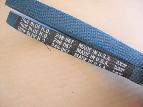 Belt for Montgomery Ward 1651-65, 1651-72, 41980, 165165, 165172 Made in USA, Kevlar cord, Oil and heat resistant