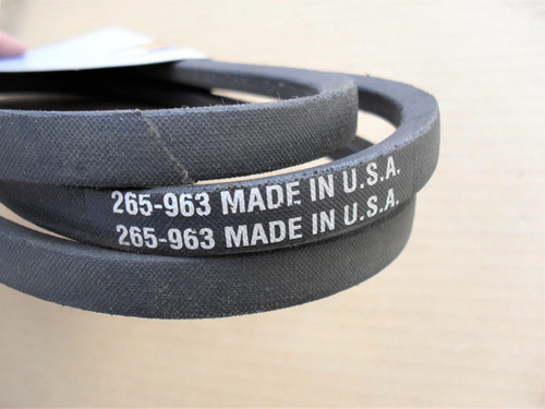 Drive Belt for Simplicity 600, 4000, 5000, 5200 series, 1670835, 1670835SM, Made In USA