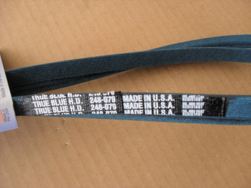 Belt for MTD 754-0339, 754-0349, 954-0339A, 954-0349, Made in USA, Kevlar Cord, Oil and heat resistant