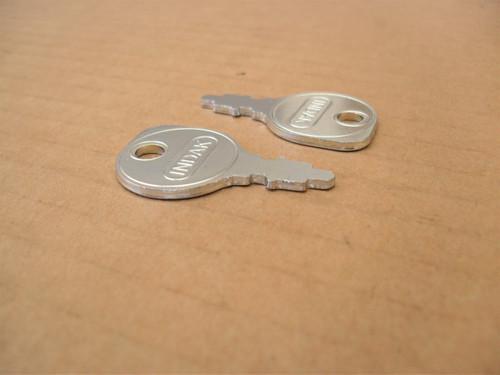 Ignition Starter Switch Keys for Craftsman 24697, 24698, 365410 key
