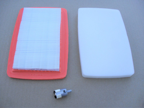 Air Filter, Pre Cleaner, Fuel Filter for Red Max EB7000 and EB8000 Backpack Blower 512652001, 544271501, 544271601