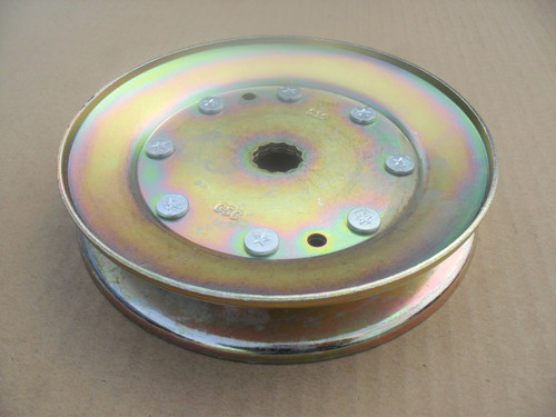 "Deck Spindle Pulley for Ariens YT19H, 42"", 54"" Cut, 21546127, Made In USA"