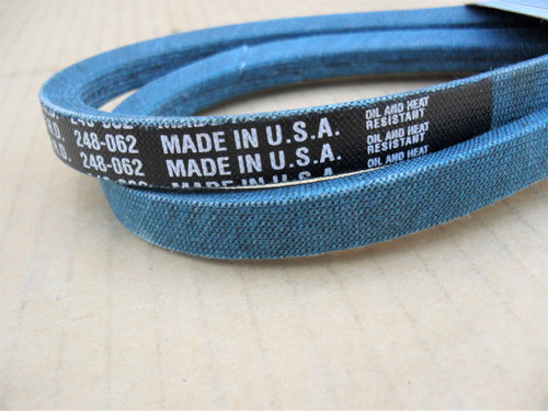 Belt for Lawn Boy 607980, 608474, Kevlar cord, Oil and heat resistant, Made in USA, lawnboy