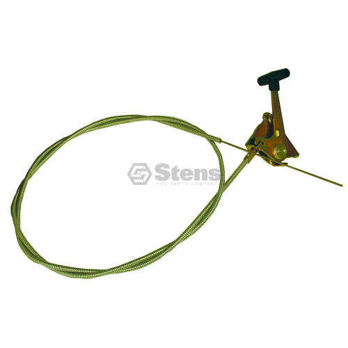 """Throttle Cable 53-1/4"""" Long, for Lawn Mower, Blower 290155"""