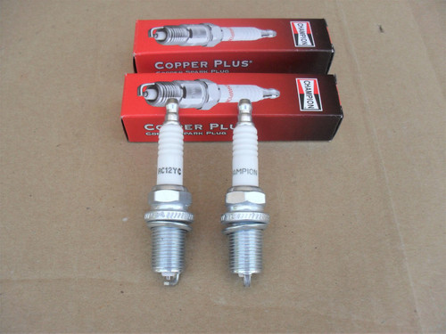 2 Spark Plugs for Bad Boy 015800000, 015-8000-00, Made In USA