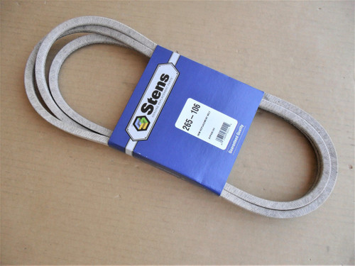 """Deck Belt for Ariens 46"""" Cut 21546607, Made In USA"""