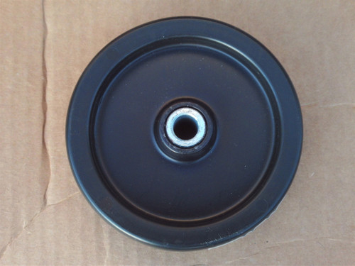 "Deck Wheel for Bolens 1735583, 1758846, 173-5583 Made In USA, Wheel Size: 5"" tall x 1-3/8"" wide, Center hole: 1/2"""
