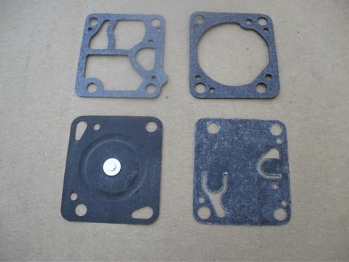 Carburetor Rebuild Kit for McCulloch Mini Mac chainsaw D1MDC, K1MDC