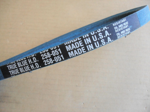Belt for Montgomery Ward 165167, 504251, 1651-67, 5042-51, Made in USA, Kevlar cord, Oil and heat resistant