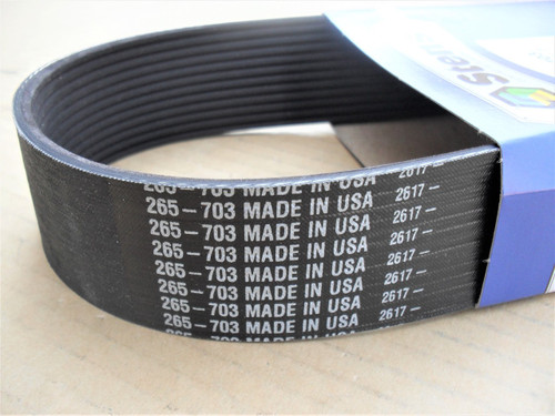 "Drive Belt for Husqvarna FS513, FS520, FS524, 542202150 with 18"" or 20"" blade, floor saw, Made In USA, Width: 1-5/8"" Length: 30-3/4"""