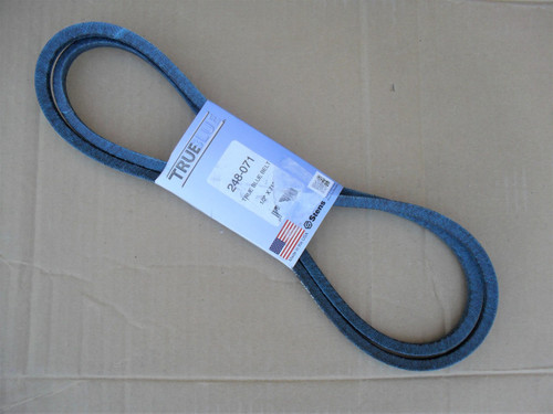 Belt for Lawn Boy 605711, Made in USA, Kevlar cord, Oil and heat resistant, lawnboy