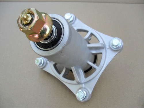 Deck Spindle for Poulan 532192870, Includes Mounting Bolts with Grease Zerk