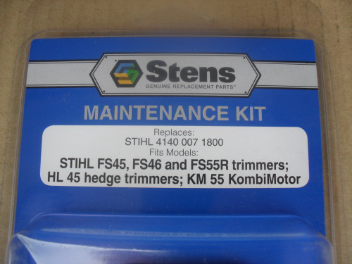 Tune Up Kit for Stihl FS45, FS46, FS55, HL45 trimmer, KM55, 41400071800, 4140 007 1800, Air Filter, Spark Plug, Fuel Filter