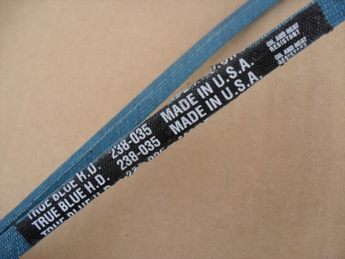 Belt for Case A70205, Made in USA, Kevlar cord, Oil and heat resistant