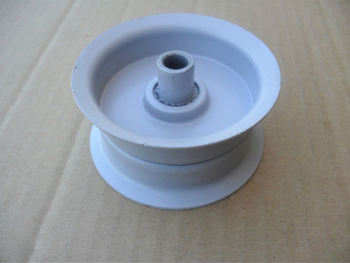 "Flat Idler Pulley for Noma 39498, Height: 1-9/16"" ID: 3/8"" OD: 3-1/4"" Murray"