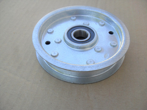 """Deck Idler Pulley for Murray 690549, 690549MA, 11/16"""" ID, 4-5/8"""" OD, 1"""" Height"""