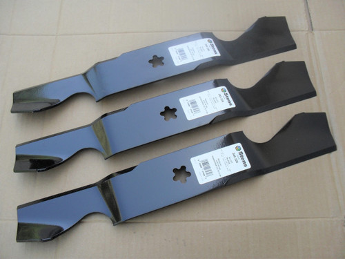 "Blades for Poulan 54"" Cut 532187256, 539112053, 574292401, 575938401, 777187256, Hi Lift, Made In USA"