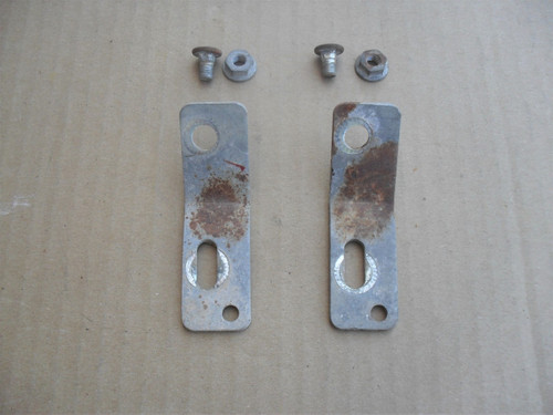 Grass Shield Bracket for Mclane and Craftsman Reel Tiff Lawn Mower 1101-A, Set of 2, USED