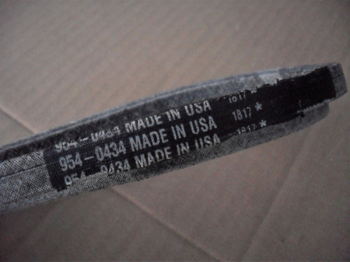 Roto Tiller Drive Belt for Cub Cadet FT24, RT65, RT65E, RT65H, 754-0434, 954-0434, Made In USA 15674