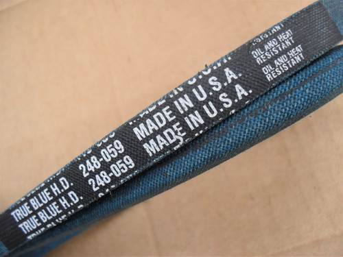 Belt for Craftsman 037X16MA, 037X24MA, 037X56MA, 138399, 23212, 23214, 23796, 23882, 37X16, 37X24, 37X50, 76274, 8377J, TH41H590, Made in USA, Kevlar cord, Oil and heat resistant