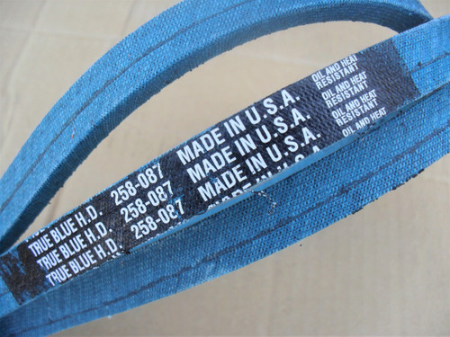 Belt for Dixie Chopper 2006B84W, Made in USA, Oil and heat resistant, Kevlar cord