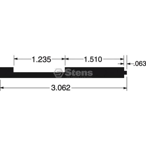 Kohler Carburetor Throttle Shaft Repair Kit 2575716, 2575716S, 25 757 16, 25 757 16-S