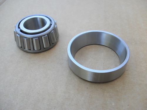 """Bearing and Race for Wright Mfg 19729 to 26979, 48"""", 52"""", 61"""" Cut Deck, 77460006, 77460007"""