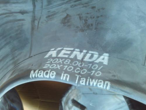 Kenda Tire Tube 20.5x8.00-10, 20.5x10.00-10 for Carlisle 321050 lawn mower