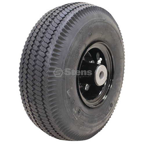 Flat Free Wheel Tire Rim Assembly 4.10x3.50-4, 175-590