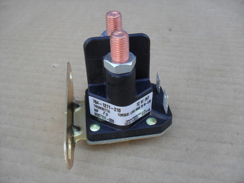 Starter Solenoid for Scotts 1642H, AM130365, AM132990, AM133094, AM138497