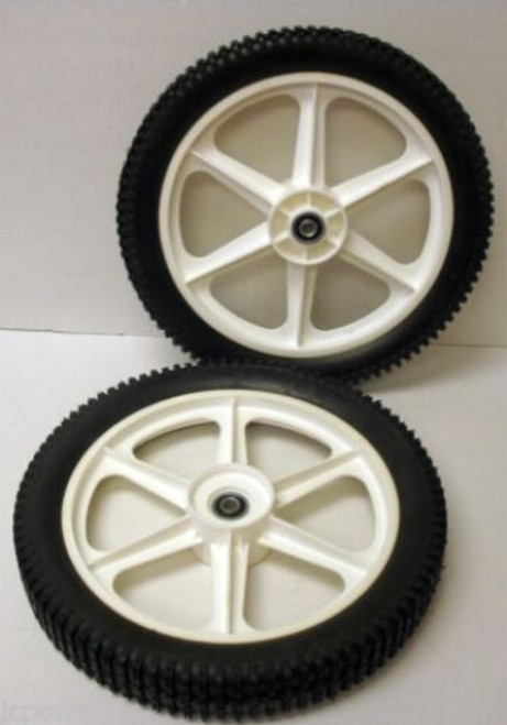 High Wheels for Craftsman 532189159, Wheel Set of 2