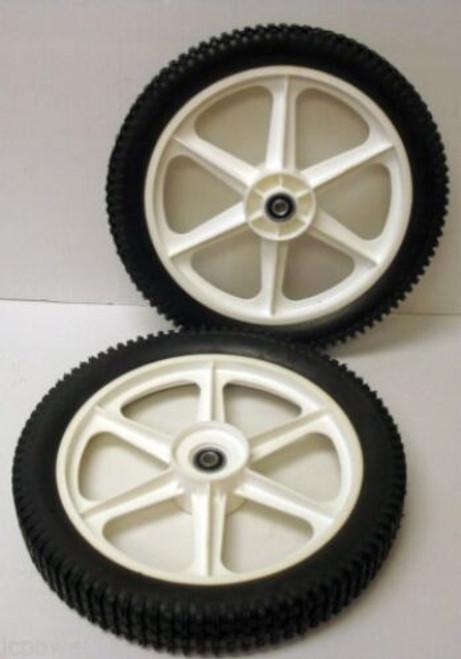 High Wheels for Husqvarna 532188808, 532189159, Wheel Set of 2