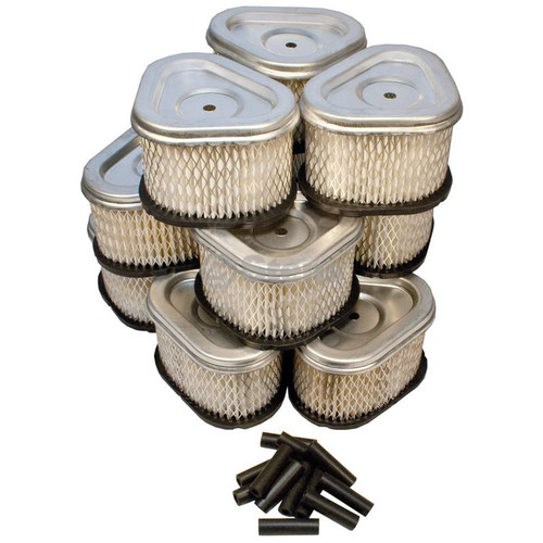 Air Filter for Grasshopper 100937, Shop Pack of 12 Filters