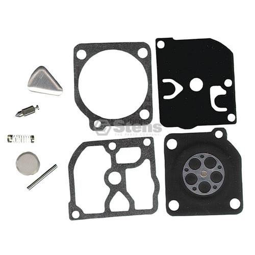 Carburetor Rebuild Kit for Jonsered 2041, 2045, 2050, RS44