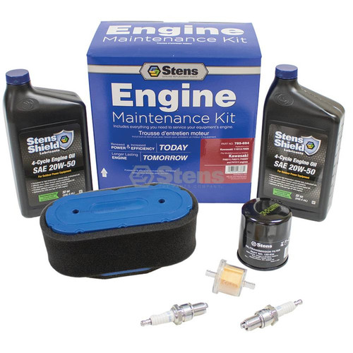 Engine Tune Up Kit for Kawasaki FH601V, FH651V, FH680V, FH721V, 110137009,  11013-7009 Air Filter, Sparkwww.lawnmowerpartstore.com