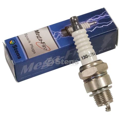 Spark Plug for NGK BPR6HS, 7022 Mega-Fire