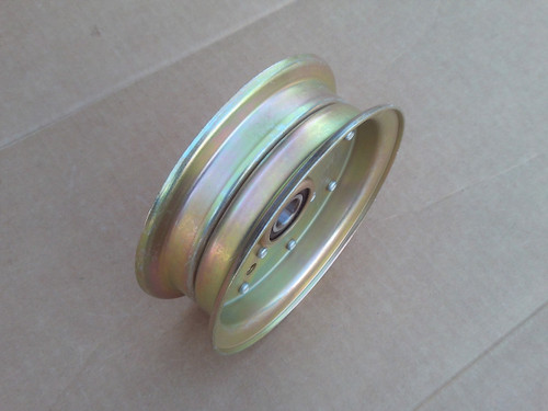 """Deck Idler Pulley for Poulan Pro 461ZX 46"""" Cut 539112196, 539131148, 539132728, 589766101, 589766102 ID: 5/8"""", OD: 5-7/8"""", Height: 2"""""""